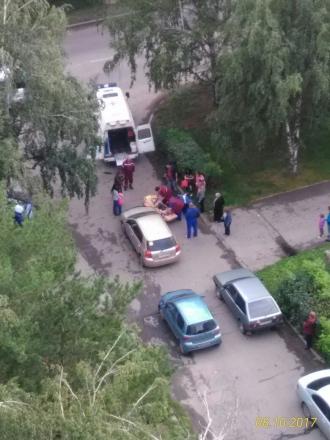 В Барнауле на аллее авто сбило ребенка