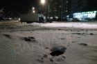 В открытый люк в Барнауле провалилась девочка