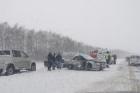 На трассе Барнаул-Павловск произошло серьезное ДТП