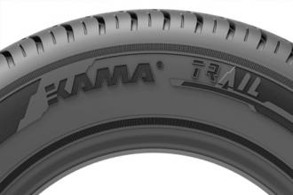Уникальные конструкционные решения шины KAMA TRAIL