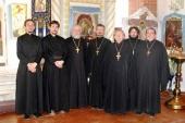 Алтайское МЧС обучило священников