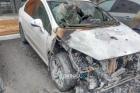 В центре Барнаула подожгли авто