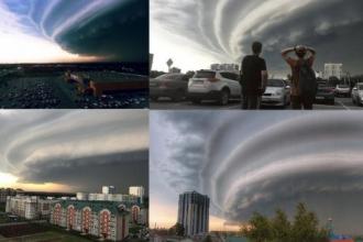 В МЧС рассказали, почему не было штормового предупреждения в Барнауле