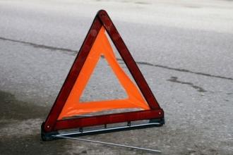 В Барнауле грузовик Вольво сбил пешехода