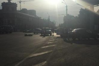 В Барнауле был сбит мотоциклист