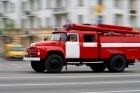В одном из поселков Барнаула произошел пожар