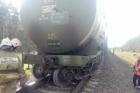 В Алтайском крае цистерна товарного поезда сошла с рельсов