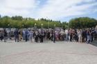 В Барнауле прощаются с семьей, погибшей на турбазе