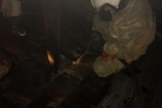 В Барнауле произошел пожар в жилом доме