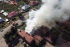 В Змеиногроске в здании завода произошел пожар
