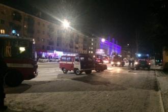 В проектном институте Барнаула произошло возгорание
