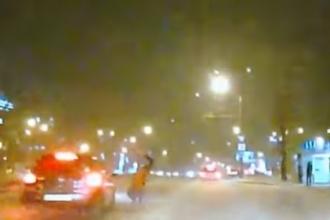 На переходе в Барнауле сбили пешехода