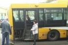 В Барнауле произошло ДТП с участием автобуса