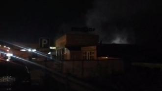 В Барнауле в ночь на 6 июля произошёл пожар