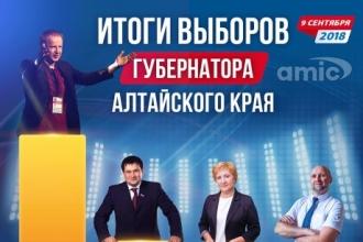 Итоги досрочных выборов губернатора Алтайского края