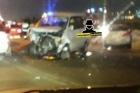 В Барнауле произошла авария с участием 4 автомобилей