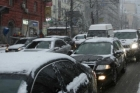 Утро в Барнауле началось с сильных пробок