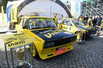 KAMA TYRES организовал выставку гоночных автомобилей на Дне нефтяника