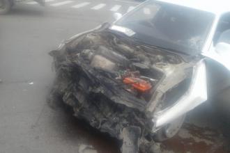 В Бийске произошло серьезное ДТП