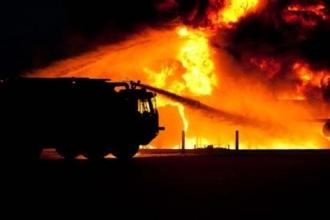 В Благовещенском районе произошел пожар