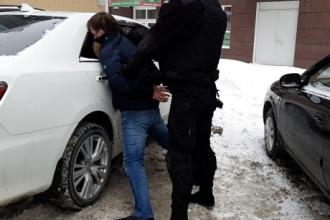 В Барнауле прошло силовое задержание