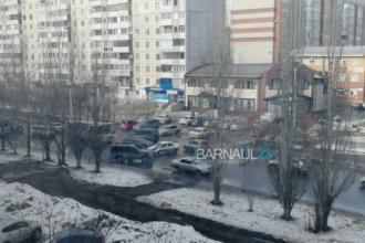 В Барнауле произошло новое ДТП