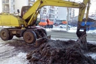 Из-за прорыва трубы в Барнауле несколько домов остались без воды