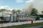 На барнаульском хлебозаводе произошел пожар