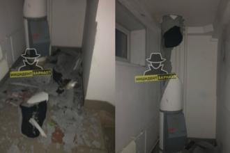Барнаульцы рассказали о взрыве мусоропровода в многоэтажке