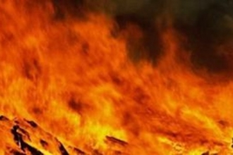 В Барнауле сгорел частный дом