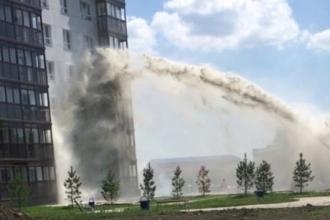 Строители охладили дом в Барнауле