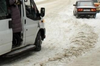 Барнаулка попала в ДТП в маршрутке