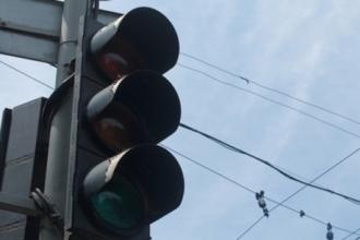 В нагорной части Барнаула отключили светофоры