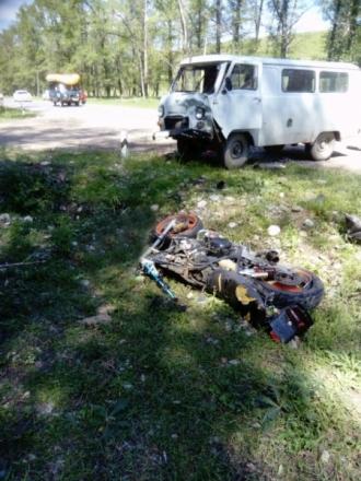 В Алтайском крае погиб 16-летний мотоциклист