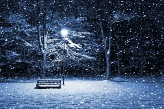 На выходных в Алтайском крае ожидается сильный снегопад