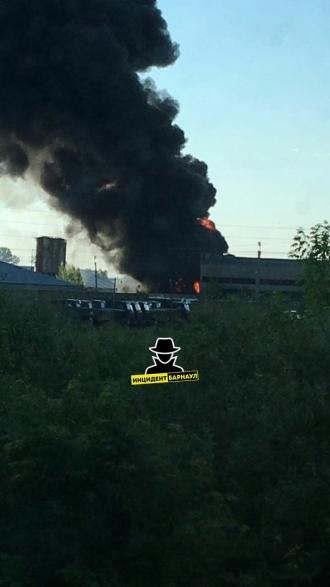 На заводе в Алейске взрывались емкости из-под горючего
