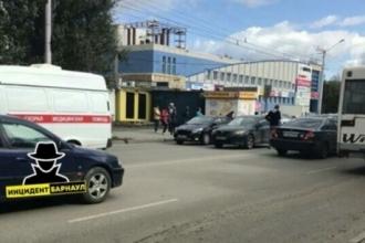 В Барнауле водитель наехал на мальчика-пешехода