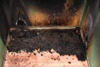 В одной из многоэтажек Барнаула загорелся лифт
