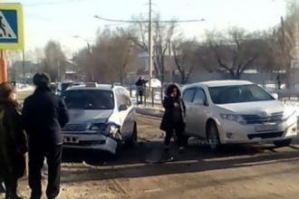 В Барнауле произошло ДТП с участием такси