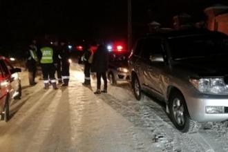 Пьяный водитель в Барнауле уходил от полицейских