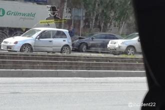 В ДТП в Барнауле пострадал ребенок