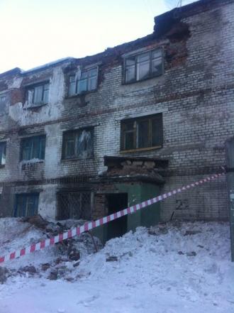 В Бийске рушится многоэтажный дом