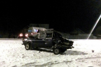 Тройное ДТП с участием подростков произошло на Алтае