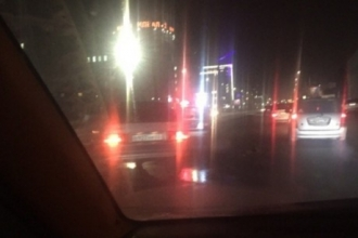 В центре Барнаула ВАЗ сбил пешехода
