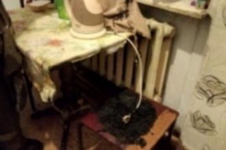 Ночью в Барнауле произошел пожар в жилом доме