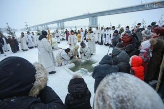 Как в Барнауле проходит Крещение?