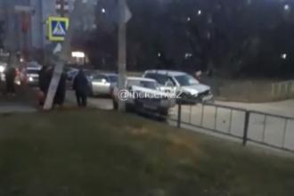 В Новоалтайске в ДТП пострадали три человека