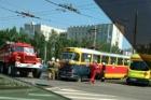 В Барнауле на рельсах произошла авария