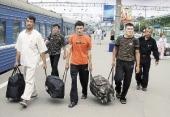 Мигранты в Барнауле
