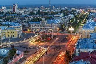 В Барнауле с рельсов сошел трамвай